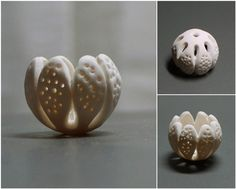 Galina Grebennikova PolyClayPlay - week 2  polymer clay, 15mm x 19mm