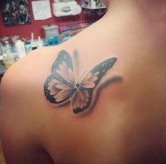 Butterfly tattoo idea suicide & self harm awareness. Semicolon ...