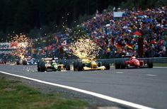 Mika Pauli Häkkinen (FIN) (Team Lotus), Lotus 107 - Ford HB Series 3.5 V8…