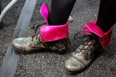 ruffled boots