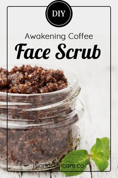 Skin Care Advice That Everyone Should Check Out - Beauty Salon Guide Exfoliating Face Scrub, Diy Face Scrub, Exfoliate Face, Face Scrub Homemade, Homemade Skin Care, Coffee Face Scrub, Coffee Face Mask, Scrub Island, Get Rid Of Pores