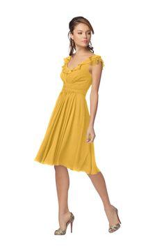 Goldenrod Dress.