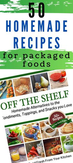 Homemade is better than the box! These no-fail recipes will teach you how to make your own ketchup mayo hot fudge granola bars marshmallows and more. Make your own pantry staples for better taste and nutrition. Breakfast Recipes, Snack Recipes, Snacks, Easy Recipes, Quick Weeknight Meals, Quick Easy Meals, Best Homemade Pizza, Homemade Food, Homemade Exfoliator