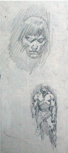 JOHN BUSCEMA: THE LOST DRAWINGS .. CLICK on pics to see FULL SIZE! | TWITTER: https://twitter.com/LostDrawings