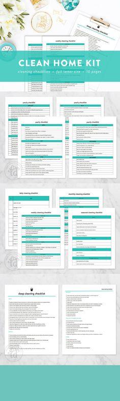Planner Printable  Monthly Planner  Weekly Planner