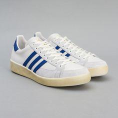 adidas / Nastase Master Vintage (Neo White / Grey / Collegiate Royal) via Oi Polloi