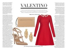 """Valentino"" by detailspoly ❤ liked on Polyvore"