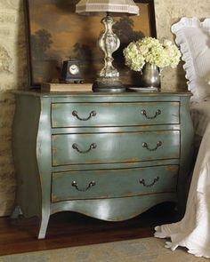 Distressed finish dresser