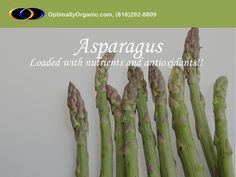Asparagus contains all that you need for a good health!  #healthyeating #healthyliving