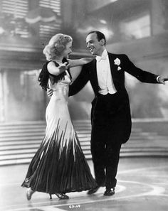 Ginger & Fred were stunning inter dance numbers ... so gracious ...
