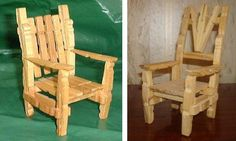 It Is Not Paper, But... Miniature Furniture Made With Clothes-Pins - by Quirky Artist Loft    In this nice website you will learn how to create Miniature Furniture Made With Clothes-Pins, perfect for dolls in 1/12 scale, like Barbie, Monster High, etc. You will find a very intuitive tutorial, full of photos. Little girls will love it!