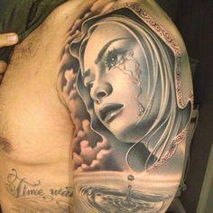 Portrait - Meehow (No Regrets Tattoo)