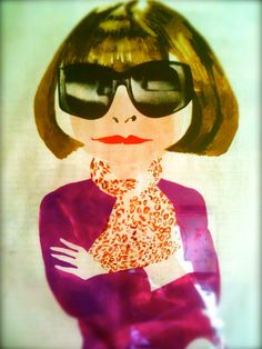 Anna Wintour - editor in chief of American Vogue