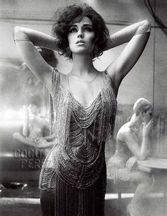 Katy Perry as a fabulous flapper in Interview Magazine. She's never looked more beautiful.