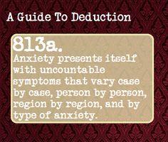 Anxiety symptoms vary
