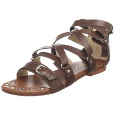 Matt Bernson Womens Marion Flat SandalBrown Soft Veg9 M US *** Click image to review more details.