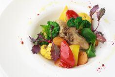 ★牡蠣と彩り春野菜のソテー