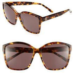 House of Harlow 1960 'Jordana' 59mm Sunglasses ($65) ❤ liked on Polyvore featuring accessories, eyewear, sunglasses, constellation, oversized eyewear, oversized sunglasses, uv protection glasses, acetate sunglasses and uv protection sunglasses