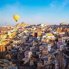Take a unique adventure trip to Cappadocia, #Turkey. Photo courtesy of brianthio on Instagram.