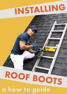 Click to learn how the Idaho Painter uses a Pivit Roof Boot to secure a ladder to the roof of a home. Useful for painting on steep inclines. This in depth guide will teach you how to install and use one yourself!