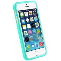 Amazon.com: Casology Slim Fit Flexible TPU Case Compatible with iPhone 5 / 5S (Turquoise / Mint): Cell Phones & Accessories
