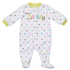 CarterS Dot I Love Daddy Sleep And Play - Newborn