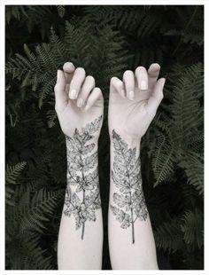 wald inspiration tattoo für frauen unterarm motive