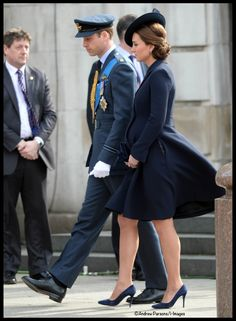 Prince William and Duchess Catherine at National Service of Commemoration honoring those who served in Afghanistan