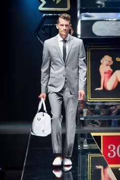 man fashion 2014 | Philipp Plein men's spring / summer 2014 runway show was unveiled on ...