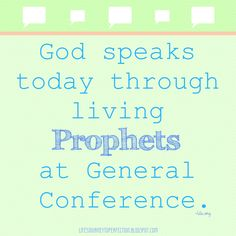 General Conference Ideas and Activities - Spring 2015