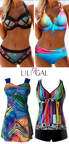 cute swimsutis for womensexy beach wear for summer vacation colorful swimsuits tribal print cutout swimsuit printed swimsuit halter bikinis sexy swimwear comfy tankini sw. Pretty Swimsuits, Cut Out Swimsuits, Vintage Swimsuits, Plus Size Swimsuits, Tankini, Halter Bikini, Outfit Strand, Sexy Beach Wear, Bikinis