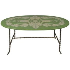 Elegant Gilt Bronze and Acanthus Leaf Table by Piero Fornasetti | From a unique collection of antique and modern coffee and cocktail tables at https://www.1stdibs.com/furniture/tables/coffee-tables-cocktail-tables/