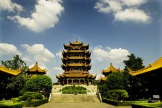 nice Yellow Crane Tower, Wuchang District, China Check more at http://oddstuffmagazine.com/architectural-marvels-of-the-month-october-2014.html