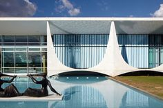 Le palais d'Alvorada - Brasilia, Oscar Niemeyer