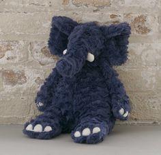 Edmundo Elephant is so cuddly! He keeps our newborn company. I LOVE THIS ELEPHANT!