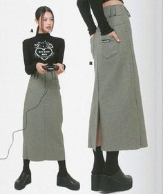 2000s Fashion, Look Fashion, Korean Fashion, Fashion Outfits, Womens Fashion, 90s Teen Fashion, Kreative Portraits, Poses References, Look Cool