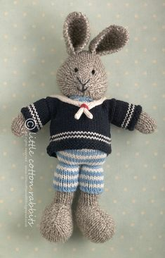 http://www.etsy.com/transaction/96190454? (Little Cotton Rabbits Shop) Knitted inspiration animal