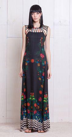 Vestido Longo Iara | Lookbook | Antix Store