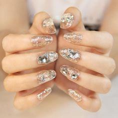 This is a great hit: Glitter Rhineston... Its on Sale! http://jagmohansabharwal.myshopify.com/products/glitter-rhinestone-fake-nails?utm_campaign=social_autopilot&utm_source=pin&utm_medium=pin