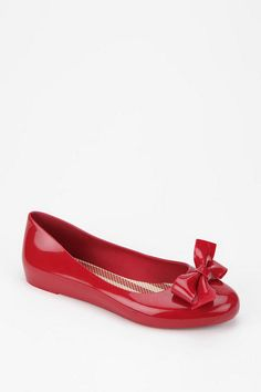 Mel By Melissa Shoes Bow Skimmer (Urban Outfitters).