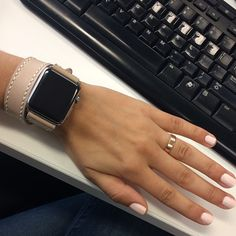 Handcrafted Women's Apple Watch iwatch leather by Leatherlemonade