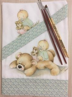 Fabric Painting, Dory, Toddler Bed, Artsy, Teddy Bear, Embroidery, Drawings, Cute, Pattern