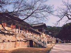 At Bulguk Temple in Gyeongju today. #경주 #불국사 #Gyeongju #Korea #travel #Buddha #temple #Asia