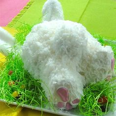 """Easter Bunny 'Butt' Cake 