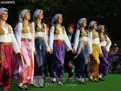 Bosnia Herzogevina Folk Dance stock photo