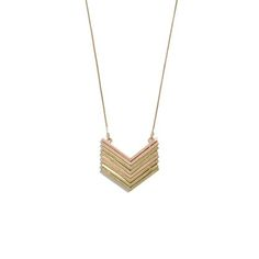 Metal Arrow Necklace | 100 Perfect Holiday Gifts Under $100 | Bustle