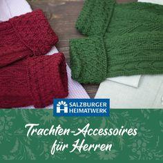Im Shop des Salzburger Heimatwerk findest Du von handgestrickten Trachtenstutzen über Trachteengürtel und Schals bis hin zu Original Haferlschuh alles, was Mann sich in puncto tracht wünschen kann. Knitted Hats, Knitting, Fashion, Scarves, Breien, Moda, Tricot, Knit Caps, Fasion