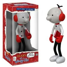 FOR TYLER: Diary of a Wimpy Kid action figure $12