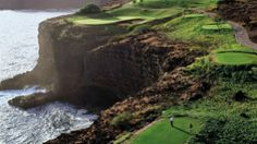 The Challenge at Manele, Lanai, Hawaii. My favorite golf course anywhere (and where Bill and Melinda Gates were married.)