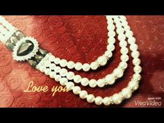 Pearls Wedding Jewelry | Pearl Traditional Jewelry : White Pearl Necklace Design